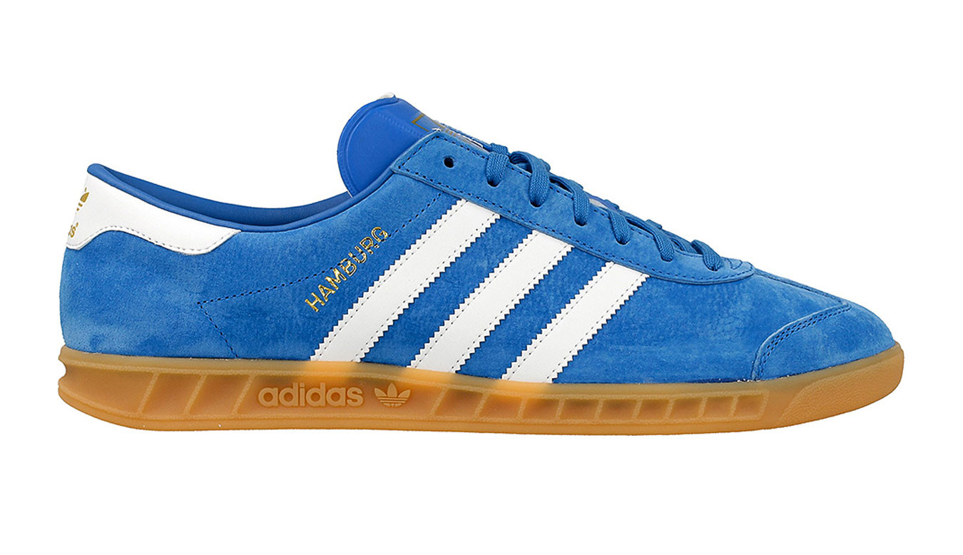 adidas hamburg bleu et orange