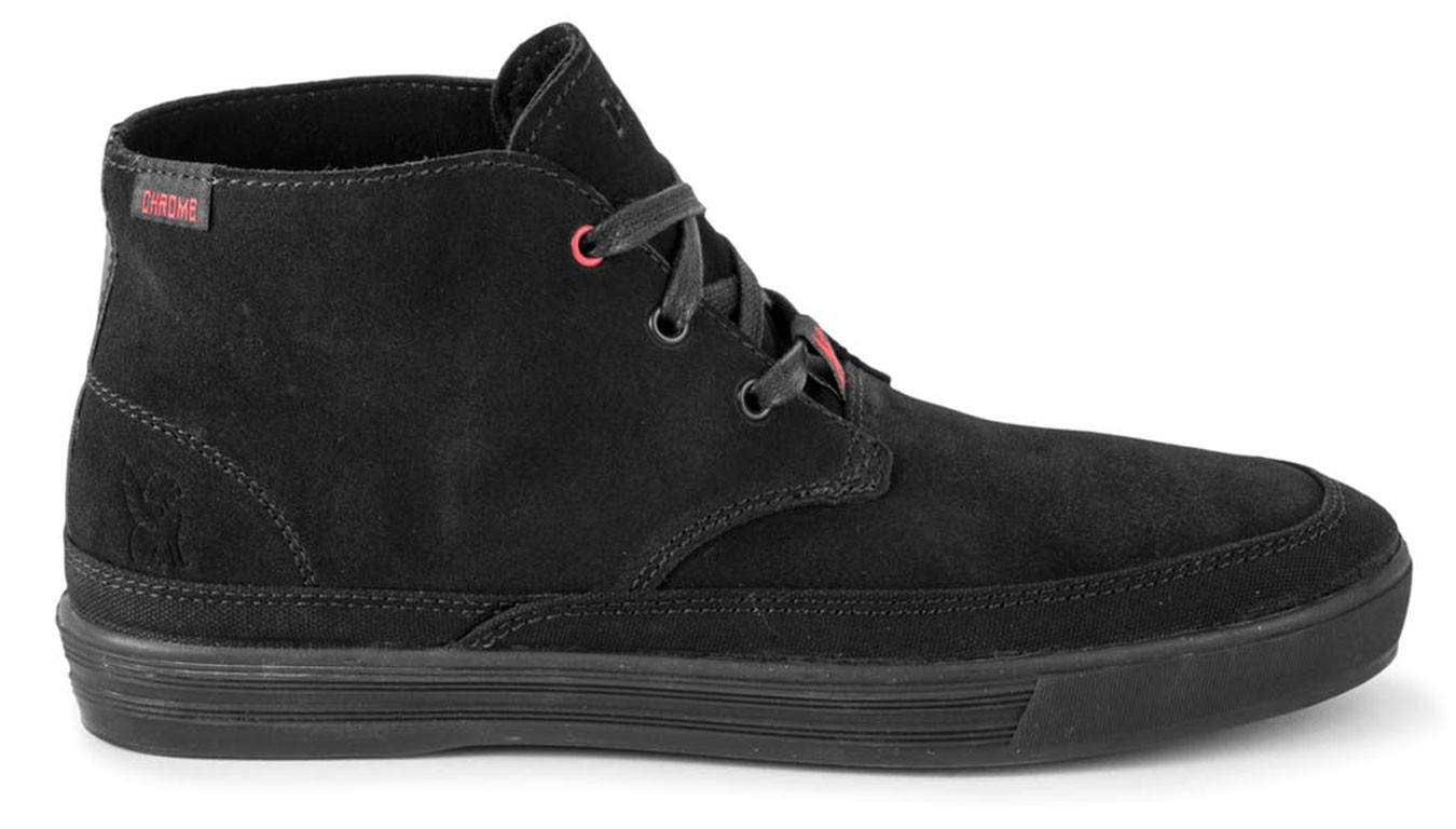 d0f36528f Noir sneakers Chrome Industries Forged Suede Chukka Boot Black Black ...