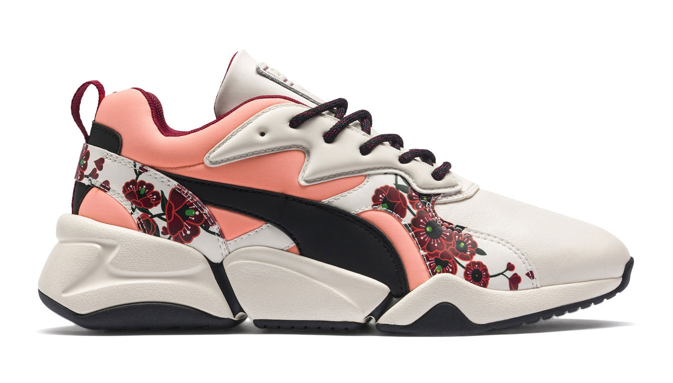 Puma x Sue Tsai Nova Cherry Bombs Trainers